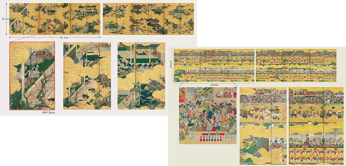 高精細デジタル技術と江戸時代の素晴らしい芸術