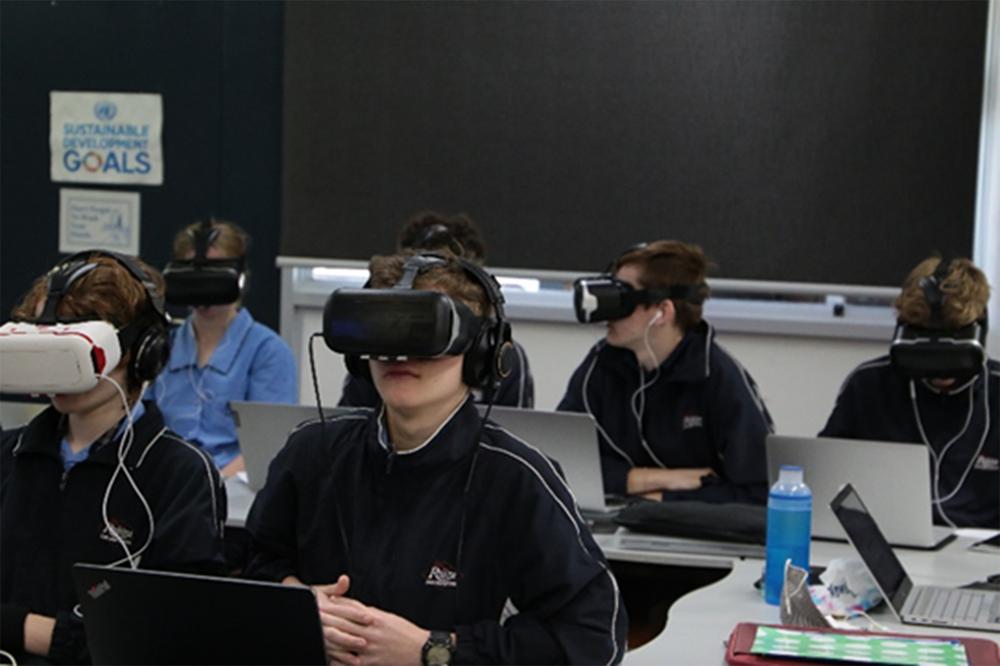 VR技術を用いたバーチャル修学旅行体験報告2