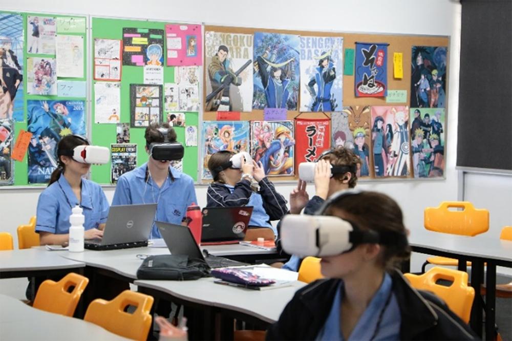 VR技術を用いたバーチャル修学旅行体験報告3